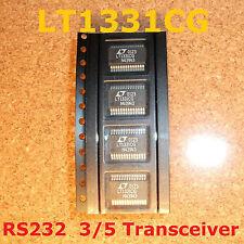 4 pcs. LT1331CG Linear Technology 3/5 Transceiver Full  RS232 28-SSOP