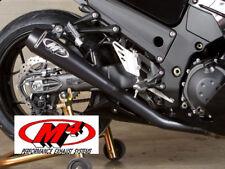 2012 - 2017 Kawasaki ZX14R ZX 14R 14 M4 Dual Retro Drag SlipOn Exhaust Mufflers