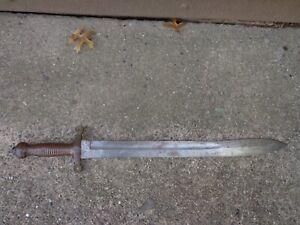 Imperial Russian M1834 Tesak (Pioneer Sword)- 1842 Dated
