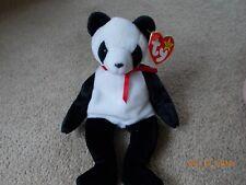 "Ty Beanie Baby ""Fortune"" panda bear with ERRORS."