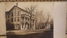 Antique RPPC Early Hotel, ??? House, Location Unknown