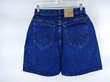 VTG Lee Women's Dark Wash Denim High Rise Jean Shorts Size 10 M