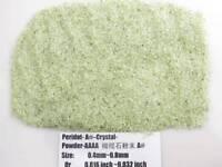 A# Natural Green Peridot Crystal Gem Stone Specimen Grinding Sand Powder Healing