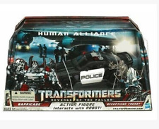 Transformers movie version 2 league level police barricade + frenzy in a box