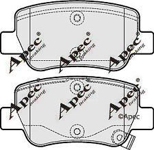 REAR BRAKE PADS FOR TOYOTA AVENSIS GENUINE APEC PAD1723