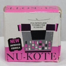 6 IBM NU-KOTE Black Film Typewriter Ribbons B42 Polyethylene Vintage in Box