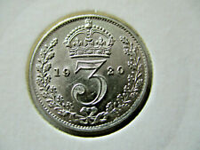 More details for george v  threepence for 1920