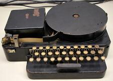 Vintage Teletype Tape Perforator Mdl 14 (Iron Horse)