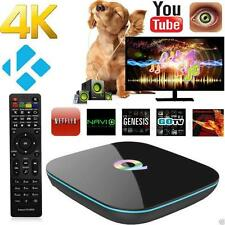Q-BOX Smart TV Box Android 5.1 4K Amlogic S905 Quad-core 5G WiFi BT 4.0 2G+16GB