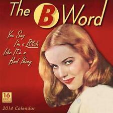 B Word (2013, Calendar)