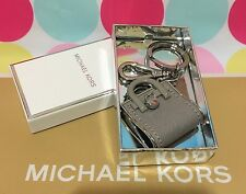 New Authentic Michael Kors Hamilton Key Charms Chain Key Fob  in Pearl Grey $48