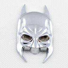 Silver Style Batman Logo Emblem 3D Sticker Decal Car Motors Decorate Parts Trim