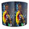 Jimmy Hendrix Guitarra Pantallas de Lámpara para Combinar Adhesivos Pared