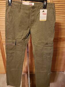 "Levi's KIDS Cargo Jeans  ""511 Slim Cargo Pant Moss"" ! RETAIL 44.00"