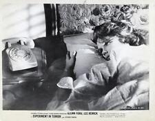 """EXPERIMENT IN TERROR""-ORIGINAL PHOTO-LEE REMICK-BEDSIDE"