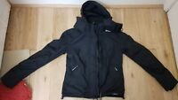 SUPERDRY JAPAN BLACK HOODED THE WINDCHEATER JACKET SIZE SMALL