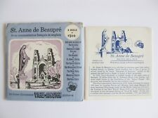 VIEW MASTER VIEWMASTER ST ANNE DE BEAUPRE Only Packet No Reels