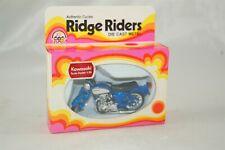 Zee Toys 1974 Ridge Riders Kawasaki Blue Motorcycle 1:26 Scale M352
