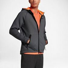 Men's Nike Therma Sphere Max Training Hoodie Grey SMALL 800227 071
