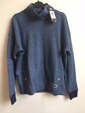 Under Armour UA Women's Sweater Fleece Funnel Neck Jumper - Small - Blue