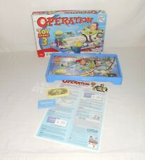 2009 Hasbro Disney Board Game Toys Story 3 Operation – Complete