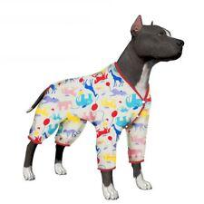 LovinPet Large Dog Clothes Dog Pajamas Post Surgery Wear Pitbull Cotton Large