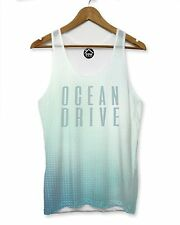 Ocean Drive Abstract VEST Top Tank Man Shape Hipster Dope Holiday Shirt Tee 185