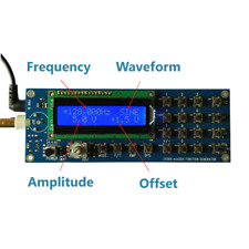 Paneled Portable Minidds Digital Function Generator Amp Servo Controller Dds Usa