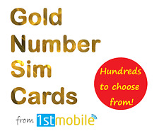 07955 836 123. NEW Gold VIP number sim card. Easy network transfer. Just 99p!