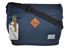 ~ Black Hawk ~ XXL Messenger Bag, Schultasche Notebooktasche blau