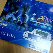 PS Vita Final Fantasy X X2 10 Remaster Resolution Box PCHJ 10009 Mint condition