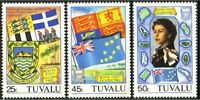 Tuvalu Maps Flags Coat of Arms MNH ** (19)