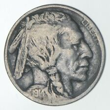 1914-D Indian Head Buffalo Nickel - Charles Coin Collection *688