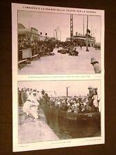 Spedizione d'Italia in Libia 1911 Napoli Carretti siciliani Tripoli Sidi Messri