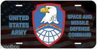 Army Space and Missile Defense Command Novelty Car License Plate