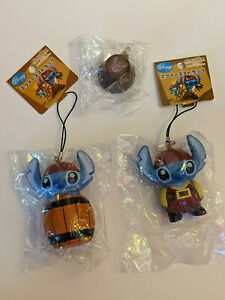 4 Rare Disney Stitch Squishy Collectables Lot
