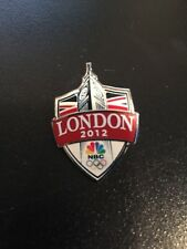 OLYMPIC PINS 2012 LONDON ENGLAND BIG BEN SPONSOR NBC MEDIA TELEVISION