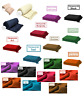 Honeycomb (Waffle)  100% Cotton Sofa Throws / Bed Throws in 11 Colors & 5 Sizes