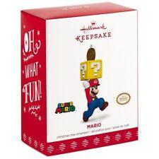 2017 Hallmark Nintendo Super Mario Ornament