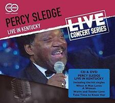 PERCY SLEDGE LIVE IN KENTUCKY (CD + DVD 2015) NEW...FAST POST