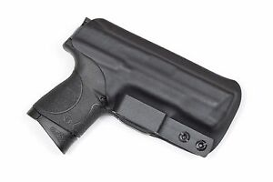Badger State Holsters- Smith & Wesson M&P Compact IWB Tuckable Black Kydex