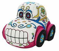 "NWT Disney Parks - Halloween Sugar Skull Car Small 7"" Plush"