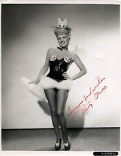 New Art Print WWII Signed Photo 8 X 10 American GI's Sweetheart Betty Grable
