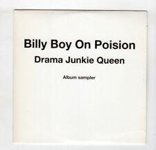 (IF694) Billy Boy On Poision, Drama Junkie Queen sampler - DJ CD
