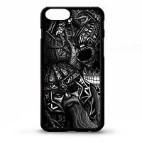 Odin Norse god hammer of Thor Mjolnir pattern skull graphic phone case cover