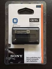 Sony NP-FM500H Li-Ion Rechargeable Battery (1650mAh)