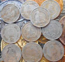 10 COINS LOT - 1995 - Saint THIRUVALLUVAR ** RARE ** 2 Rupees india