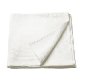 "INDIRA Bedspread, white 91x98 "" NEW FREE SHIPPING"