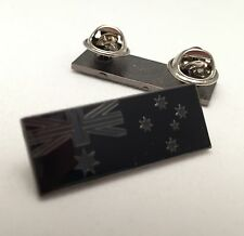 Australian Flag, Subdued Pin, Citation Size, 32mm x 12mm, 2 Rear Pins.