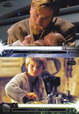 2013 Star Wars Jedi Legacy base/blue 90 card set + 2 insert sets 213 cards